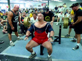 Metal Melitia Powerlifting Training