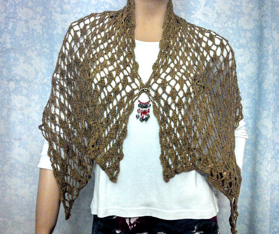 Bufanda Chalina En Tejido Crochet Ganchillo