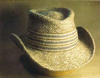 cowboy hat crochet sombrero vaquero pattern # 27