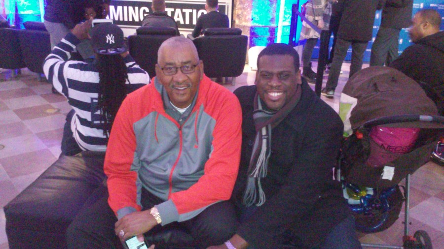 Tuesday  August 18  2015   George  The Iceman  Gervin on the left  a certain CrosSynergy blogger on the