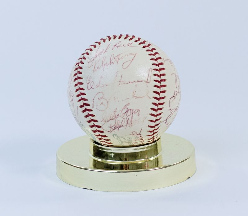 Lot Detail - 1963 New York Yankees Team Signed Baseball ...