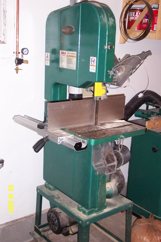 Casters Delta Band Saw
