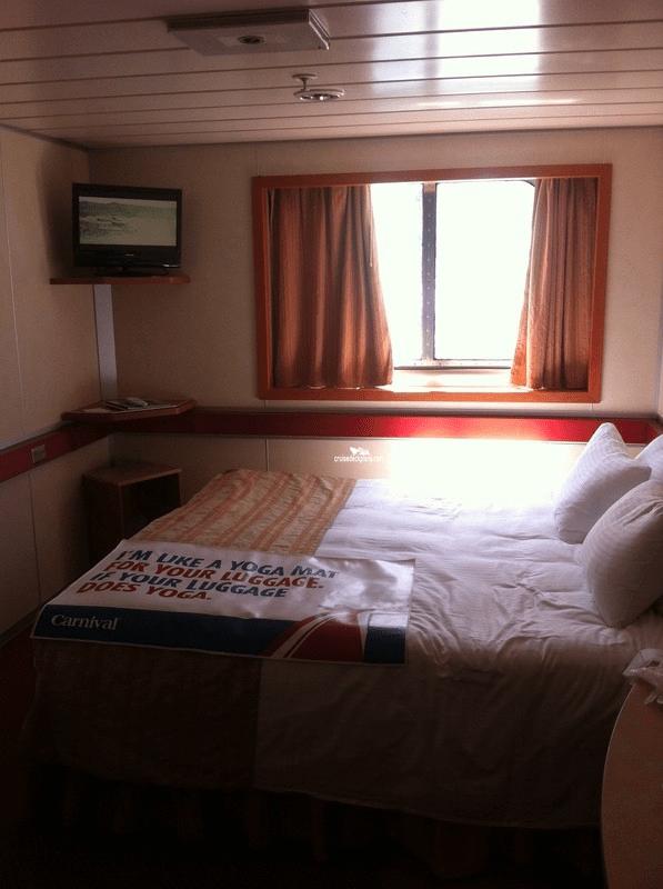 E240 Carnival Ecstasy Deck Plan