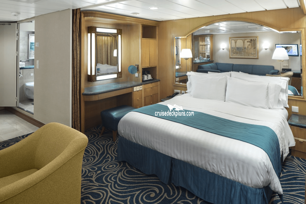 Rhapsody Of The Seas Grand Suite Details