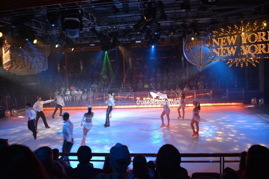 Liberty Of The Seas Center Ice Rink