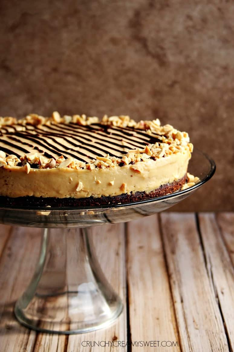 Peanut Mousse Cake Chocolate