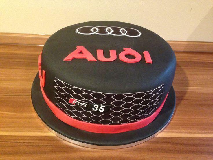 Some Smashing Audi Themed Cake Ideas Audi Cake Designs