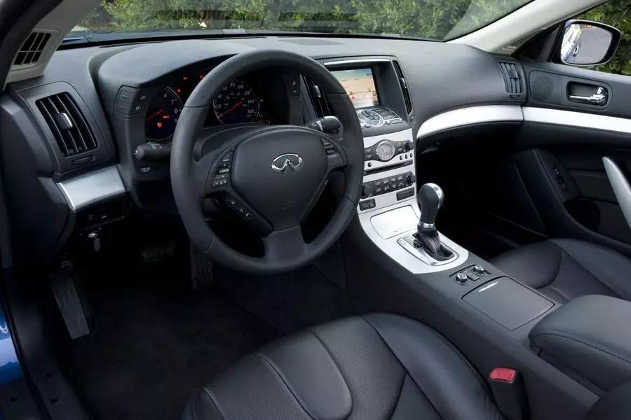 2009 Infiniti G37 Coupe Interior