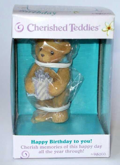 Heidi 180 S Cherished Teddies Galerie Happy Birthday To You