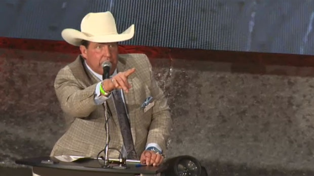 Organizers Have Optimism For Calgary Stampede Tarp Auction