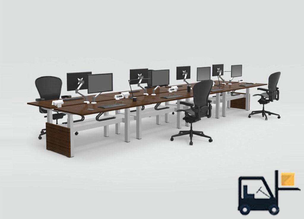 Adjustable Height Workstation Stand Up Workstation Sit