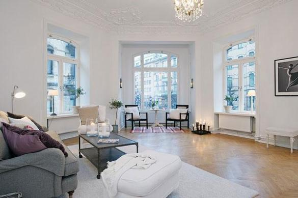 A Spacious Scandinavian Apartment   Art and Design For those of you who enjoy an apartment with a feeling for the original