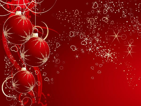 50 Red Christmas Wallpapers   Art and Design Red christmas background