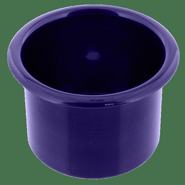 Spun Aluminum Large Cup Holder Insert Purple