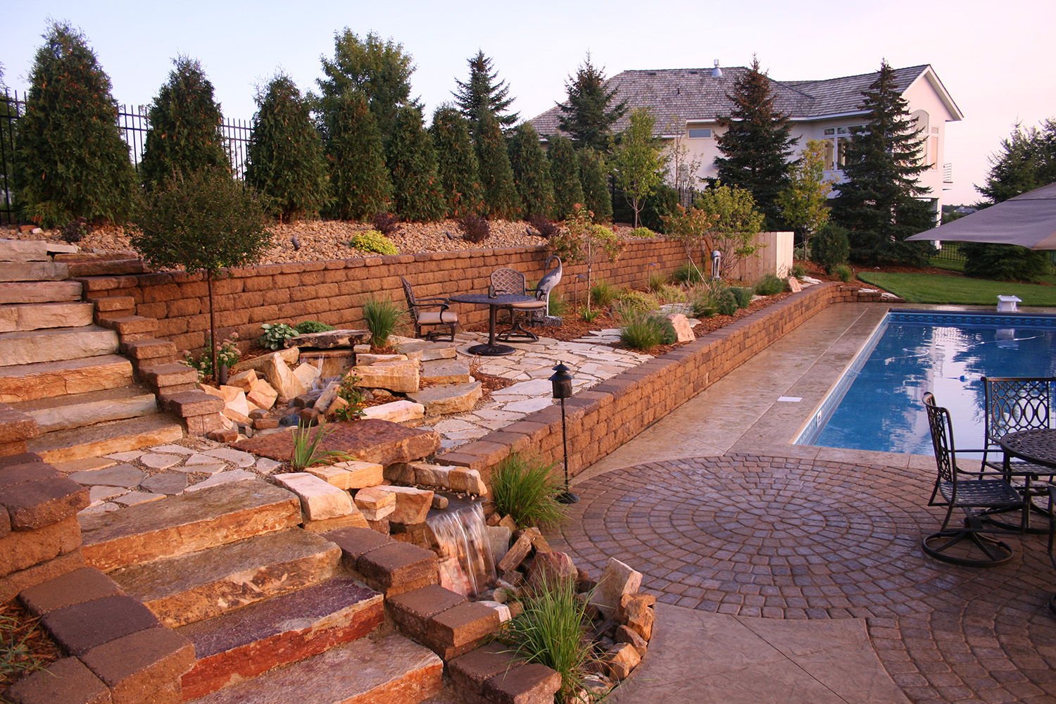 Pool Landscapes Minneapolis Mn High End Residential