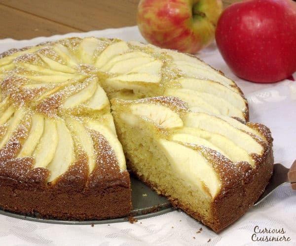 Easy German Apple Cake