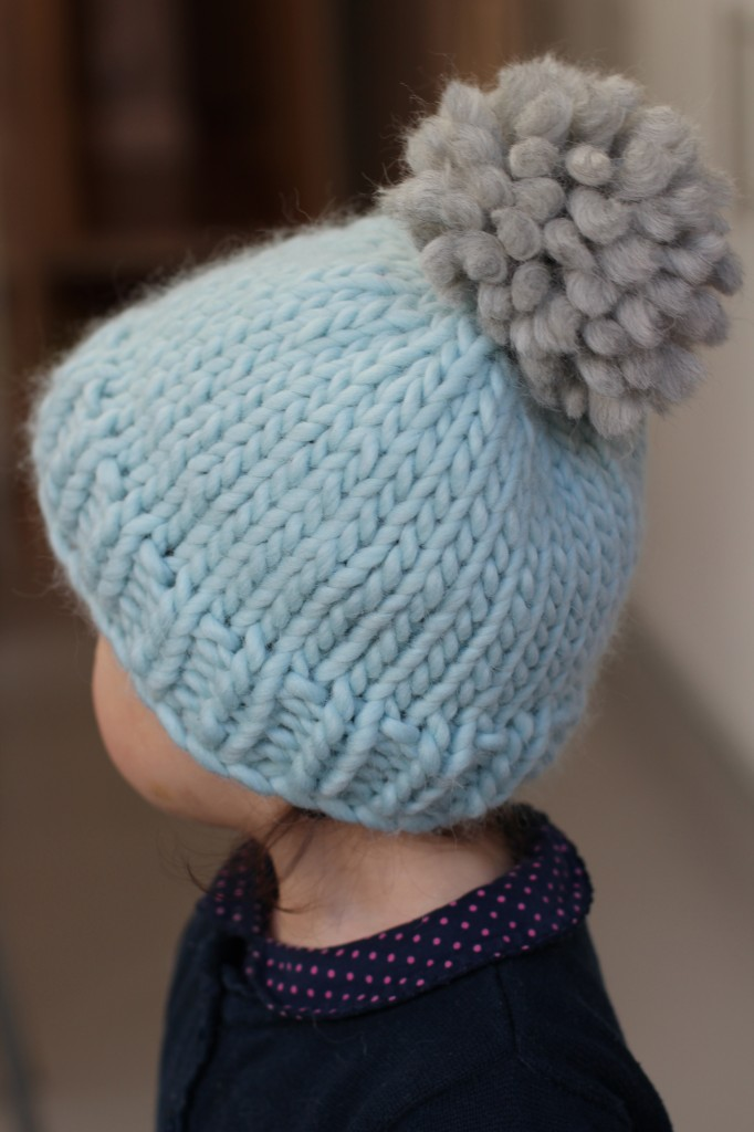Knitting Hats With 10mm