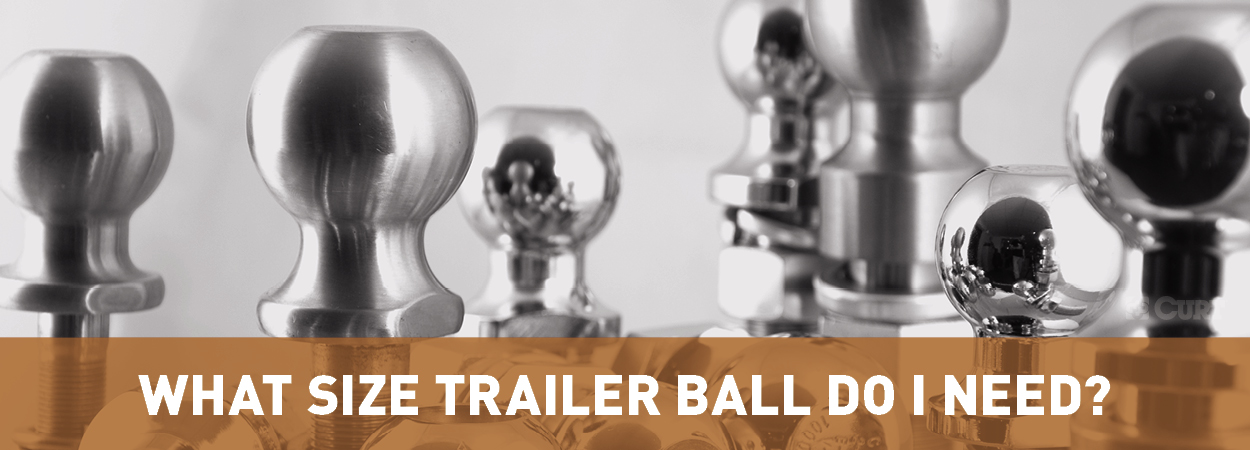 Standard Trailer Hitch Ball Sizes How To Choose