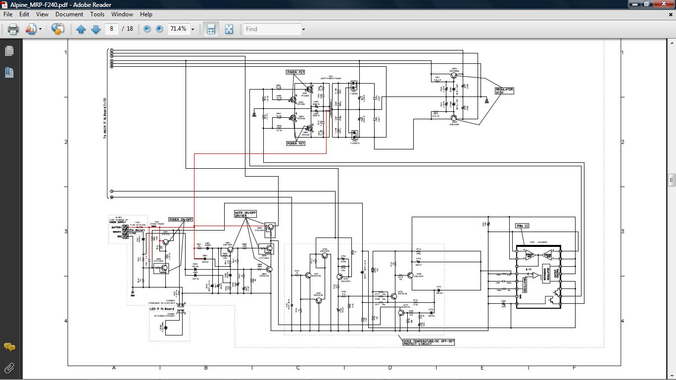Alpine Mrp F450 Wiring Diagram Electrical Diagrams F250 4 Channel Amp M450 Source Car Audio Amplifiers