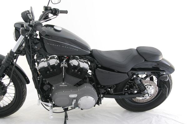 Mustang Seat Harley Davidson Sportster Tripper Rear Seat