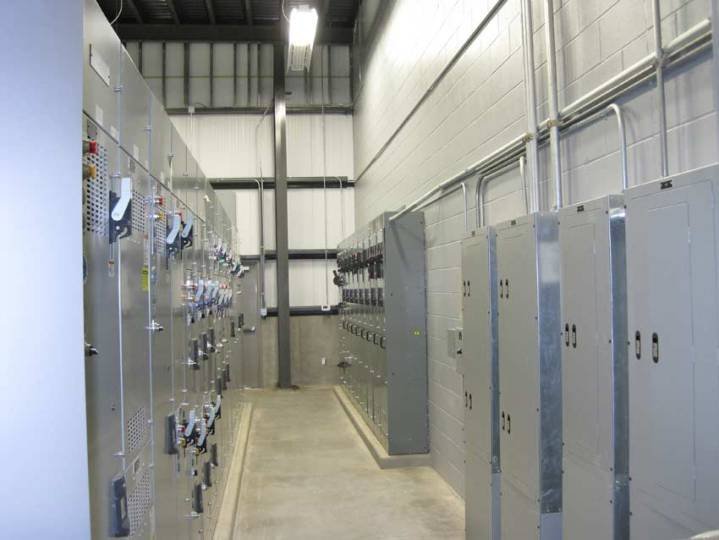 Our Services   Custom Electric Kuna WWTP Electrical Room