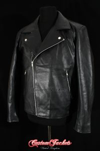 Men's MAD MAX Beyond Thunderdome Black Real Genuine Cowhide Leather Motorcycle Biker Movie Film Jacket