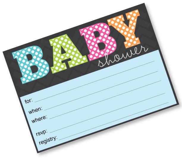 Baby Shower Invitations 2nd Child