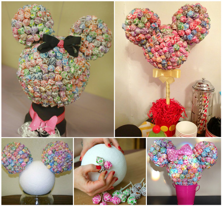 Printable Lollipop Invitations