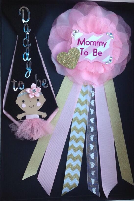 Pinterest Baby Shower Corsage