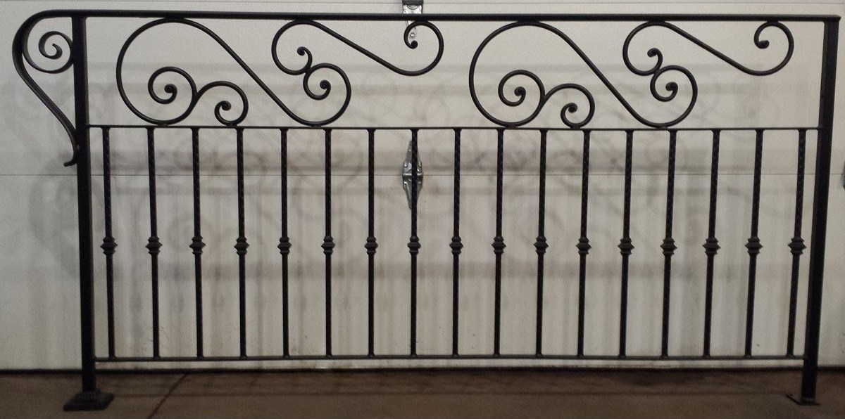 Custom Decorative Railing Cutting Edge Metals Inc | Decorative Handrails For Stairs | Main Entrance | Solid Wood | Different Style | Elegant | Steel Pipe