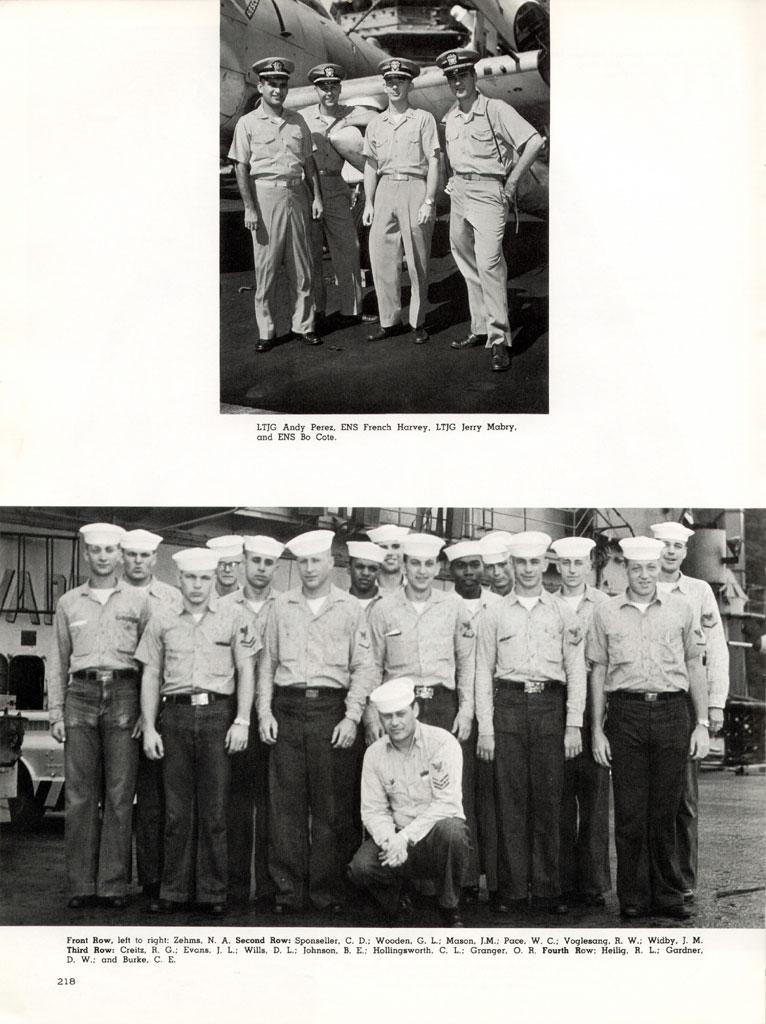 Midway Uss Crew List 1958