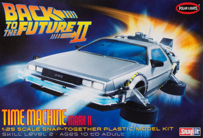 Polar Lights 0925 1 25 Back To The Future Ii Time Machine