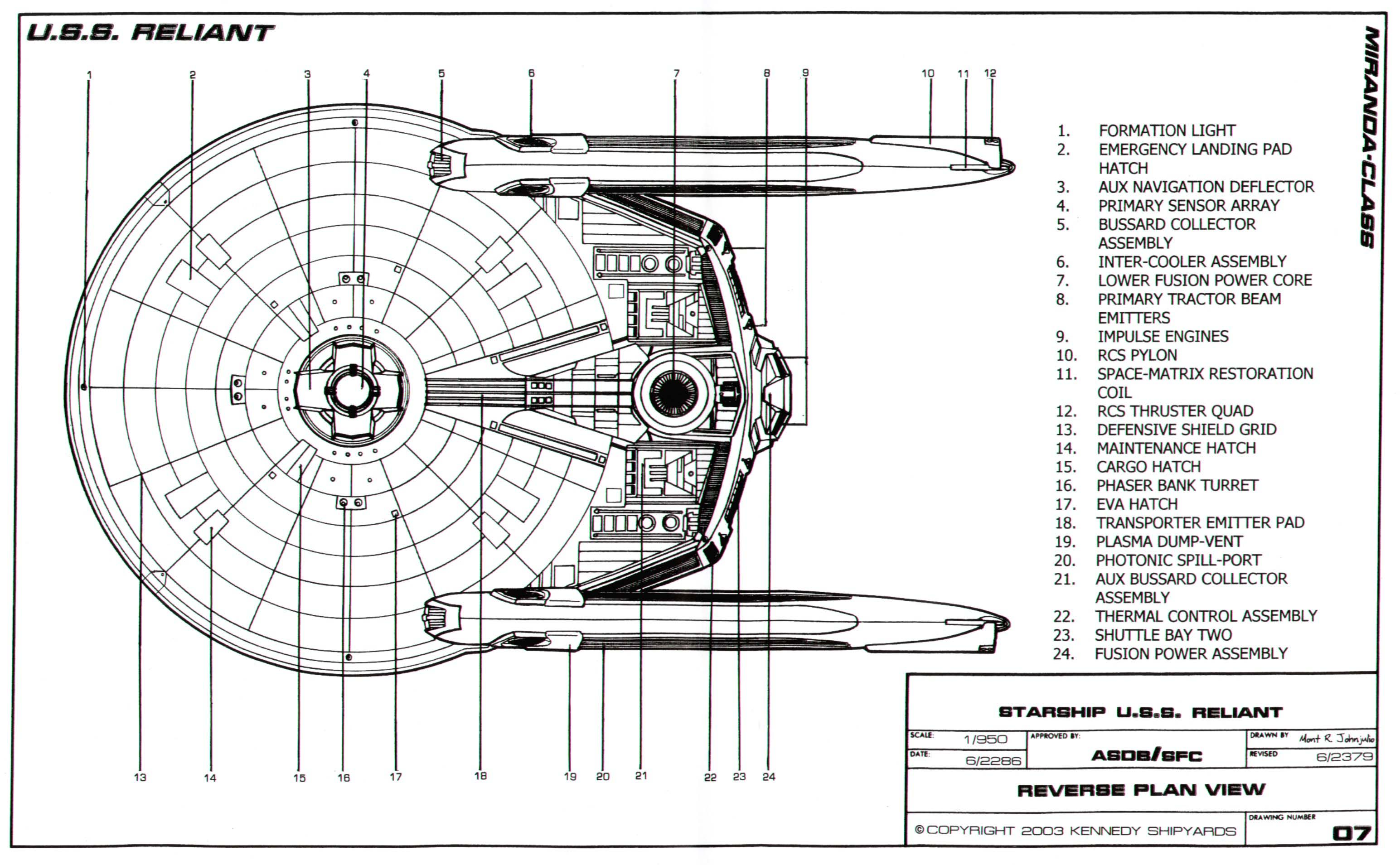 Uss Enterprise Ncc 1701 Refit
