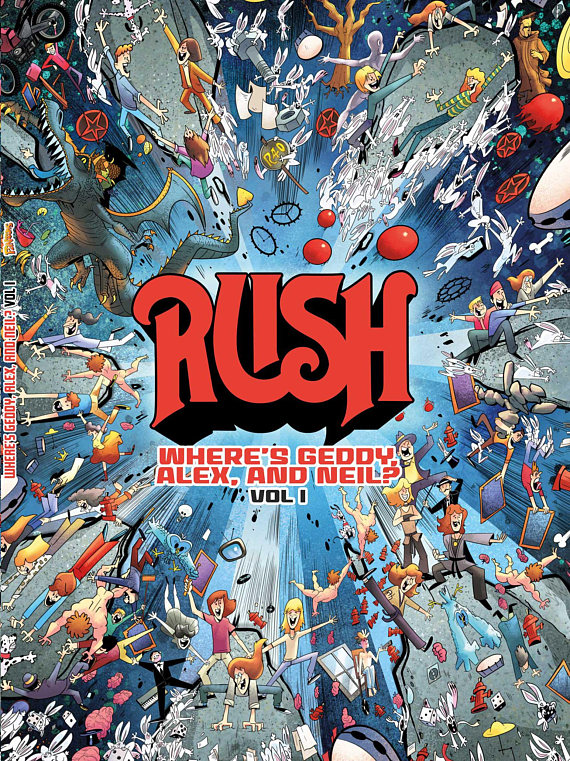 Rush Hold Your Fire Artwork