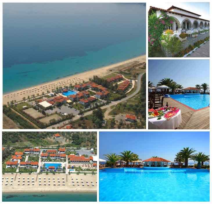 греческий отель Bomo Assa Maris Beach Греция отдых с детьми