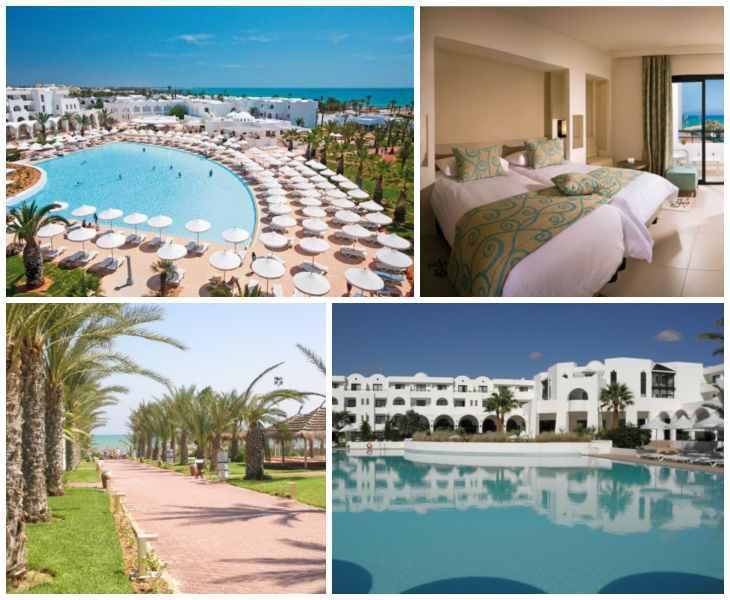 отель Sentido Palm Azur Джерба Отели 10 лучших отелей 4 звезды «все включено» на 1 линии в Тунисе (Джерба) azur