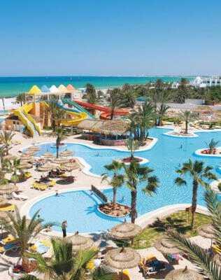 Джерба Отели 10 лучших отелей 4 звезды «все включено» на 1 линии в Тунисе (Джерба) carib