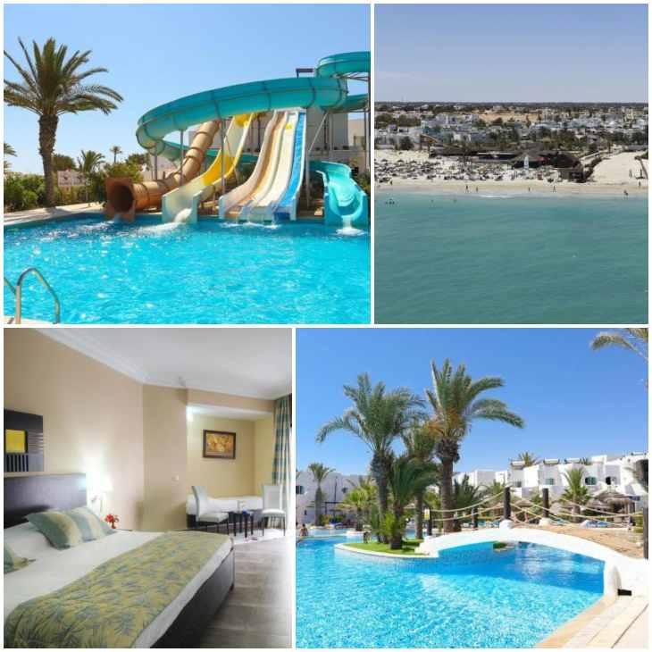 отель Fiesta Beach Джерба Отели 10 лучших отелей 4 звезды «все включено» на 1 линии в Тунисе (Джерба) fiesta