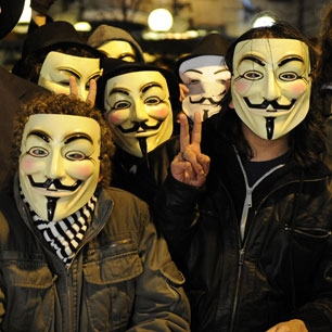 Anonymous Hacker Group Attacks BMI Website