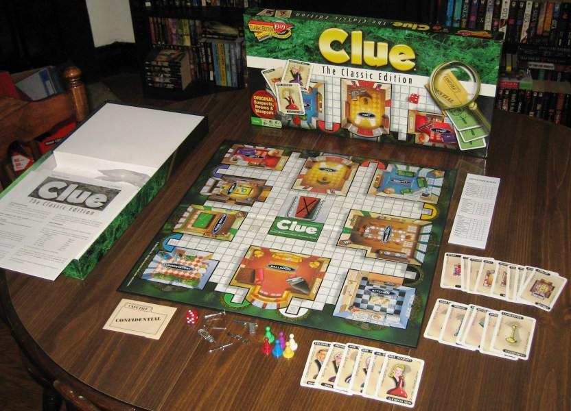 Clue  The Classic Edition   Dad s Gaming Addiction Clue  The Classic Edition   3 6 Players  Ages 8   Average