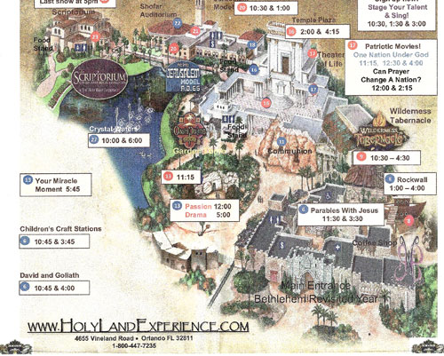 Discount Tickets Holy Land
