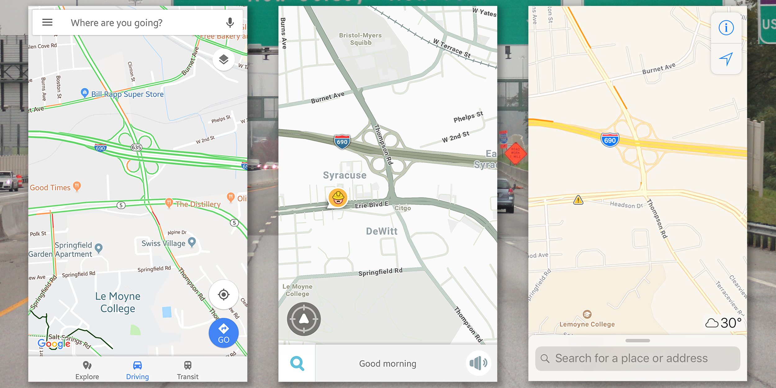 Waze vs Google Maps vs Apple Maps  The Best Navigation App