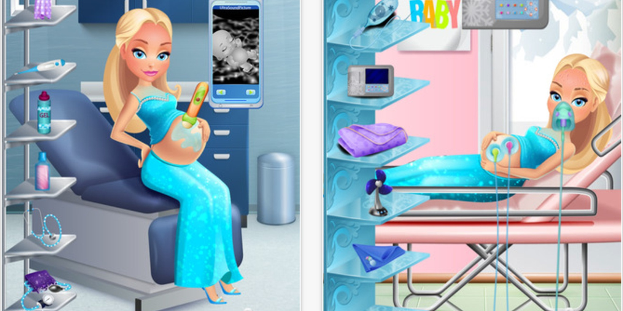 The bizarre  fetishistic world of  pregnant mommy  games for kids     Why are these apps so damn popular   and who are they really meant for
