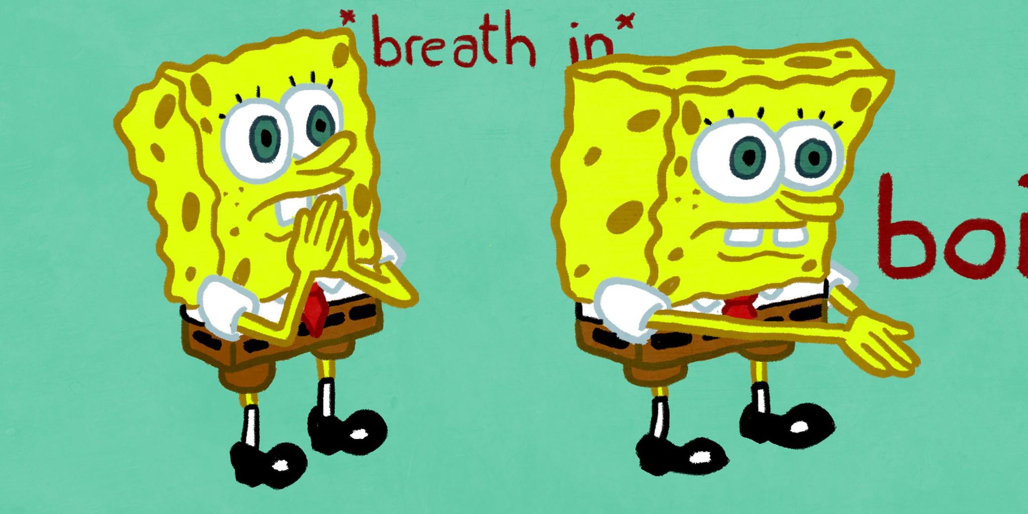 No Spongegar Background