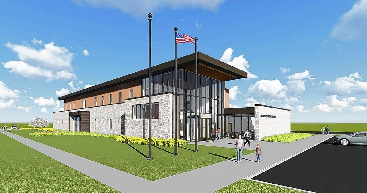 Glen Ellyn Board To Vote On Police Station Design Monday