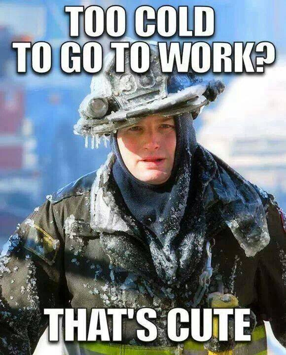Freezing Cold Work Memes