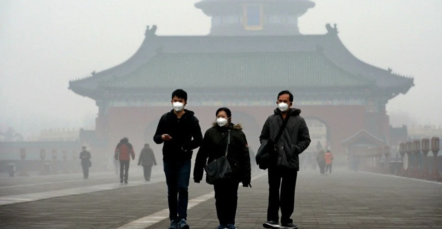 China s Major Pollution Problem Causes Beijing to Issue a  Red Alert