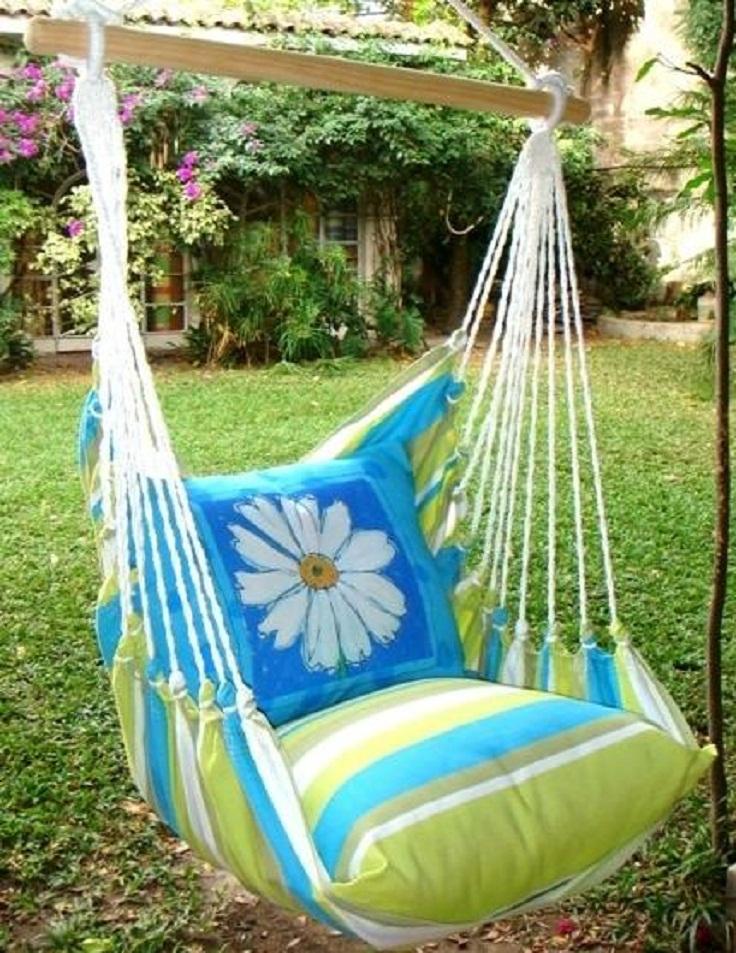 Backyard Porch Swing