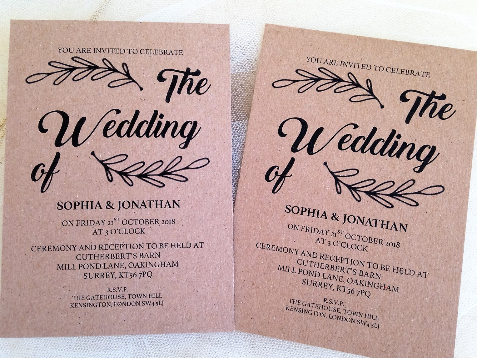 Wedding Anniversary Save Date Cards