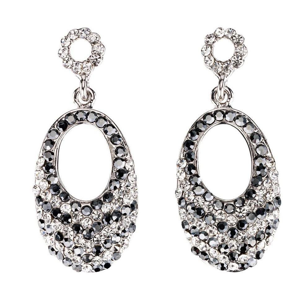 Clear Crystal Earrings Drop Swarovski